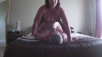 Wide Open Hairy Pussy